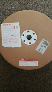 Factory Reel Of 600 Wima Mkc4 47uf 100v 5 Metallized Polycarbonate Capacitors