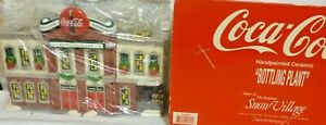 Dept 56 Snow Village Coca-Cola Bottling Plant - 54690