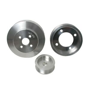 Bbk Performance 3 Piece Underdrive Pulley Kit 1994 1995 Mustang 5 0l 1554