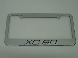 Xc90 Stainless Steel License Plate Frame Xc 90 Free 2 Caps