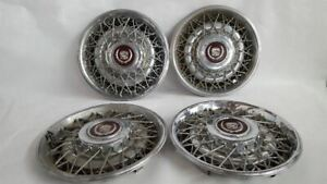 Hub Cap Wheel Cover Wire Type Fits 88 89 90 91 92 Cadillac Fleetwood Rwd R309594