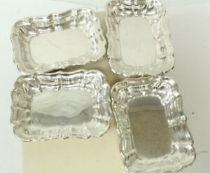 4 Reed Barton Windsor Sterling Personal Ashtrays