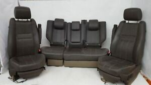 Full Set Of Leather Seats Small Cut Oem 2010 2011 Range Rover Sport R314557