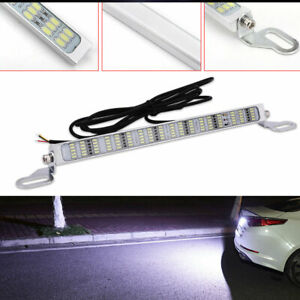 1 Set White 90 Smd Bolt On Led Lamps License Plate Lights Backup Reverse Lights