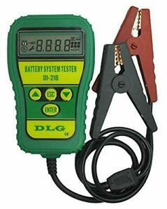 Dlg Di 216 Automotive Battery Tester Vehicle Car Battery System Analyzer Tool