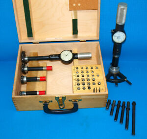 1 To 12 Standard Gage Bore Gage Set 2 Thru 6 With All Extensions