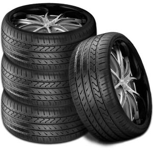4 New Lexani Lx twenty 245 35r20 95w Xl All Season Uhp High Performance Tires