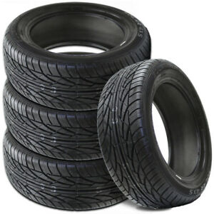 4 New Solar 4s 205 55 16 91h Blk Sl All Season Performance Tires By Sumitomo