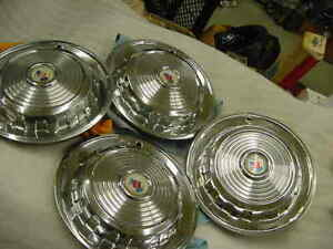 Mercury 1958 14 Full Hub Cap Set