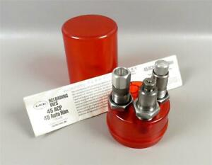 LEE 45 ACP  AUTO CARBIDE Pistol Reloading Dies For Press
