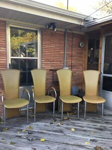 Vintage Mid Century Modern Set Of 4 Dining Chairs Free Shipping Make Offer