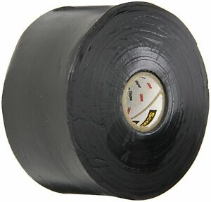 Black 3m 130c Linerless Electrical Tape 30 Mil 2 X 30 pack Of 12