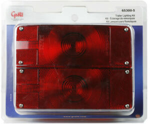 Grote 65300 5 Red Submersible Low profile Trailer Lighting Kit