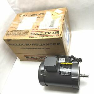 Baldor Vl3503 Ac Motor Power 1 2hp Voltage 115 230vac 3450rpm 5 8 Shaft