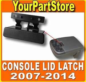 Front Seat Center Armrest Console Lid Latch Repair Kit For 07 14 Chevy Silverado