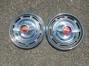 1966 Buick Skylark Spinner 14 Wheel Covers Hubcaps