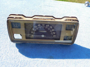 1940 Ford Standard Speedometer And Gauge Cluster