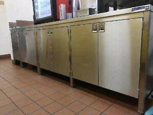 Commercial Stainless Steel Cabinet For Restaurant Bar Food Services