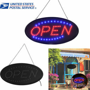 25 48 Neon Animated Led Business Sign Open Light Bar Store Shop Display Board