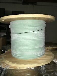 M16878 30 Bpl Mil spec 6 Awg Aerospace Wire Cable Green Silicone 150c 1000v