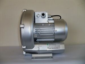 Regenerative Blower 1 1hp 71cfm 64 h2o Press 220v 1ph Goorui Ghbh 001 12 1r3