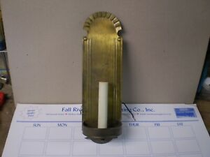 Vintage Solid Brass Wall Candle Light Sconce