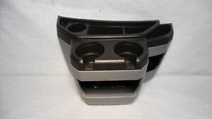 2003 2014 Ford E250 Center Floor Console W Cup Holders Oem