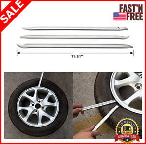 Motorcycle Tire Iron Spoon Set Car Lever Tires Rim Changing Protector Tool Combo