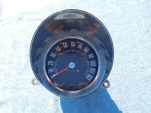 1965 1966 Oldsmobile Speedometer And Bezel Jetstar Starfire