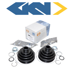 Oem Front Axle Outer Cv Joint Boot Kit 2pc Gkn Loebro Bmw E46 325xi 330xi E53 X5