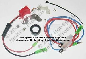 Electronic Ignition Conversion Kit Replaces Points In 4 cyl Citroen Renault Etc