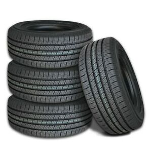 4 New Lexani Lxht 206 P235 65r18 104t All Season Performance Tires