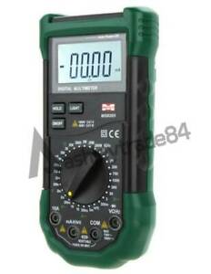 Mastech Ms8265 Digital Multimeter Ac dc Volt Amp Capacitance Frequency Test