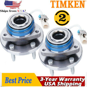 Timken Front Wheel Hubs Bearing Buick Cadillac Chevrolet Pontiac Saturn Abs Stud