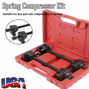 2pcs Strut Coil Spring Compressor Removal Installer Tool Set For Macpherson