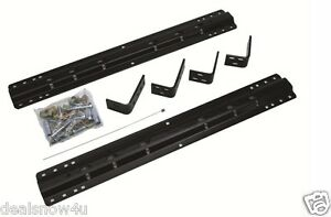 Rv Reese 20000 Fifth Wheel Rail Kit For Camper Tow Goose Neck Plate Mount Hitch