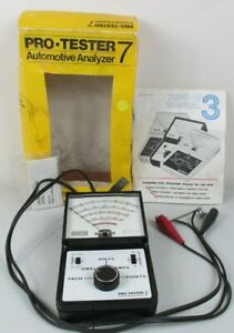 Dixco Model 1402 Pro Tester 7 Automotive Analyzer Tune Up W Box And Manuals