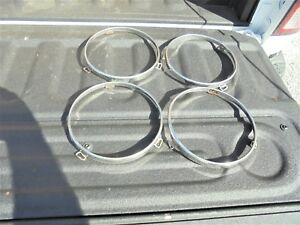 1968 1972 Ford Truck Headlight Rings 68 69 70 71 Pick Up