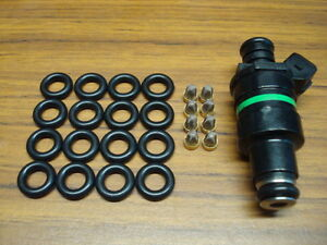 V8 Fuel Injector Service Kit O Rings And Steel Filter Baskets Fit Lucas