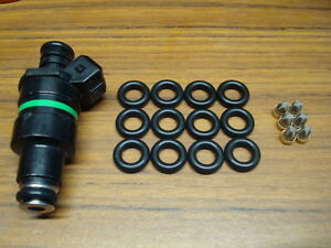 6 Cyl Fuel Injector Service Kit O Rings Steel Filter Baskets Lucas Smp