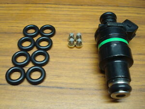 4 Cyl Fuel Injector Service Kit O Rings Steel Filter Baskets Lucas Smp