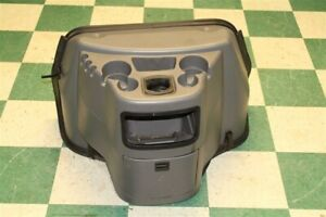 03 16 Ford Van Doghouse Gray Console Engine Cover Cupholder Trim Panel Hood Oem