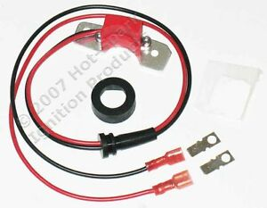 Electronic Ignition Conversion Kit 1949 74 Ford Mercury 6 Cyl 12 Volt Negative