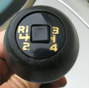 Volvo 240 242 244 245 740 760 Shifter Knob 4 Speed With Overdrive