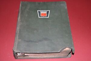 Rare Oliver Tractor Service Bulletin In Binder 1967 To 1970 Hundreds Of Them