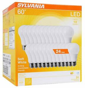 Sylvania 60w Equivalent Led Light Bulb A19 Lamp Efficient 8 5w Soft