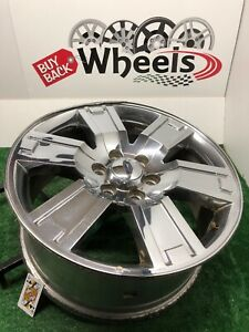 2007 2011 Ford Expedition 20 Factory Oem Chrome Clad Wheel Rim