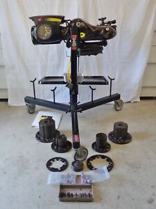 Pro Cut Pfm 9 2 On Car Brake Lathe With 4 Adapters Accessories