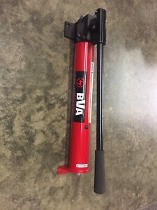 Bva P1201s Single Speed Hand Pump 67 In Reservoir 10 000 Psi