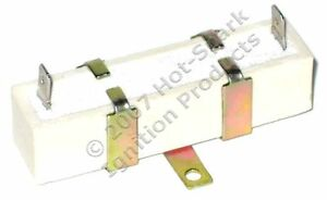 External Ballast Resistor 1 4 Resistance Protects Points Electronic Ignition